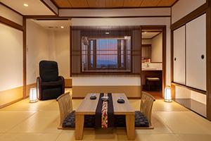 展望風呂客室[生駒山側]