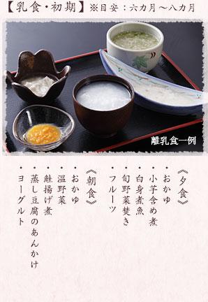 離乳食 イメージ1
