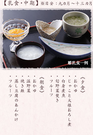 離乳食 イメージ2