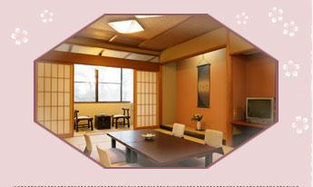 お部屋は、和室をご用意します