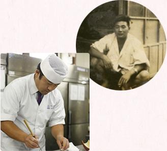二.料理人歴15年の若き料理長が創る新たな味わい