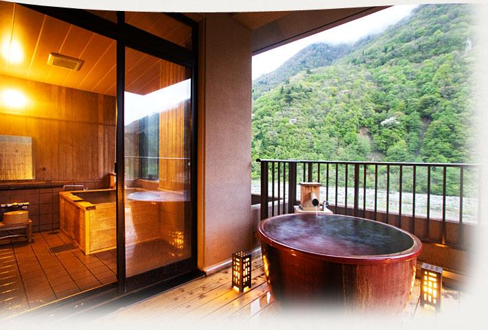 風呂付客室イメージ